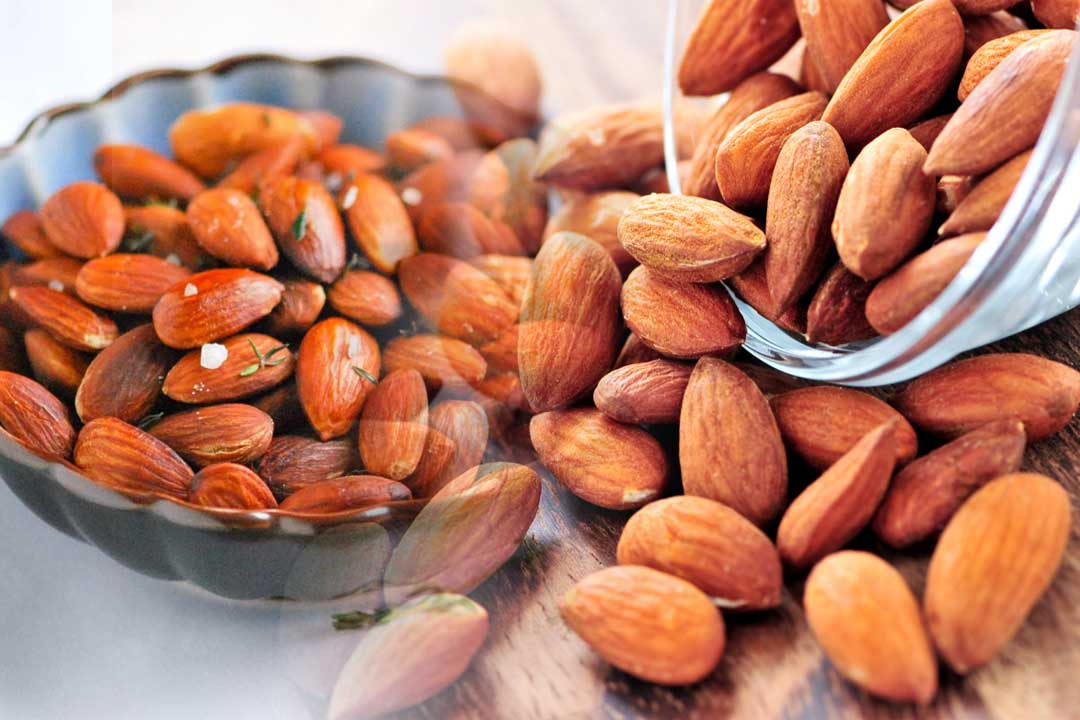 top almond producing countries in the world