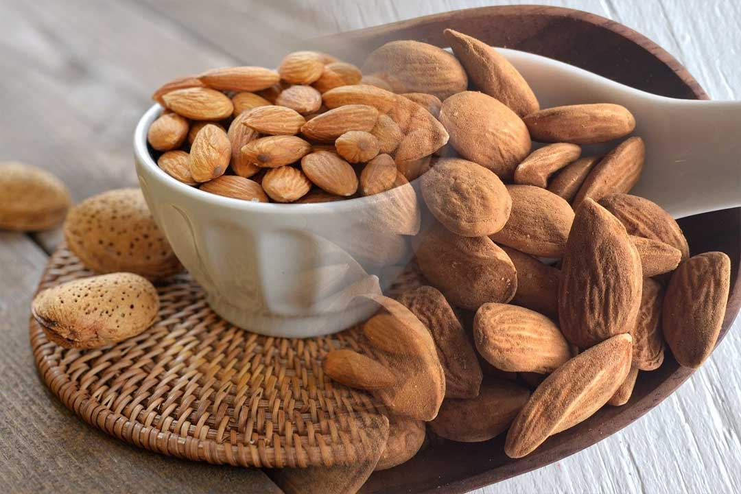 top countries with most almond production in the world