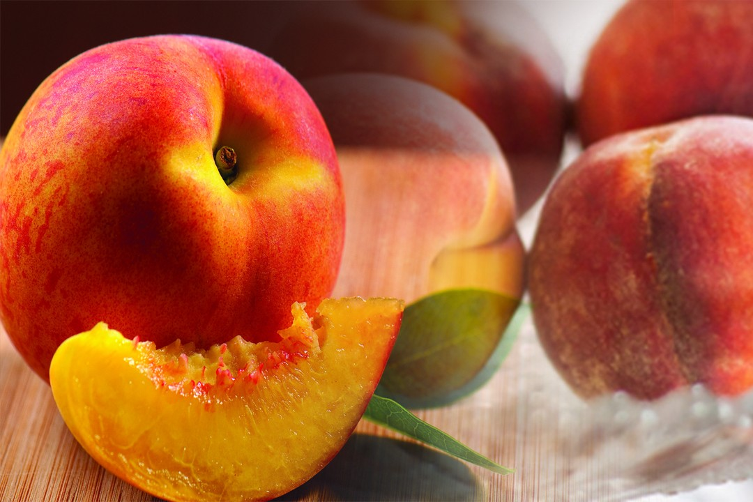 top countries with peach production
