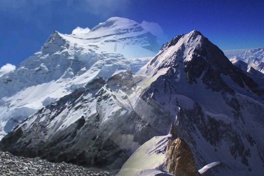 top highest mountain in the world