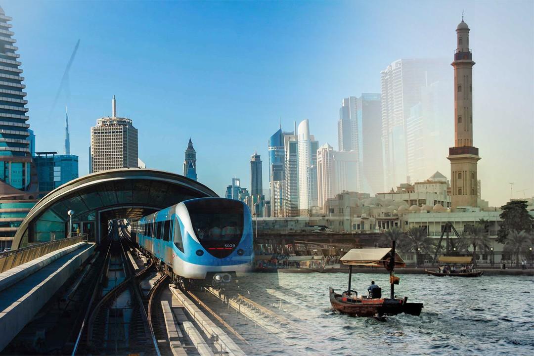 Busy life in Dubai