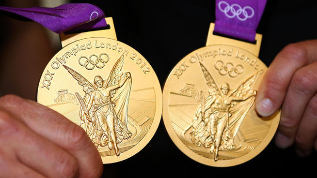 Of top 10 countries by most gold medals in olympics games in the world