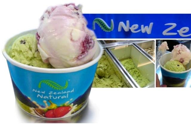New Zealand ice cream