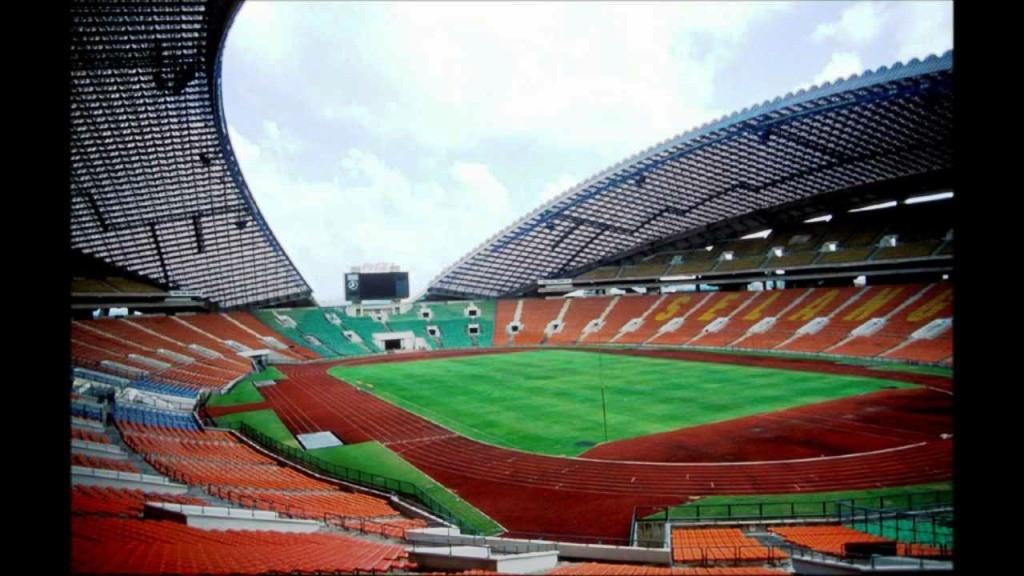 Biggest football stadium in asia continent