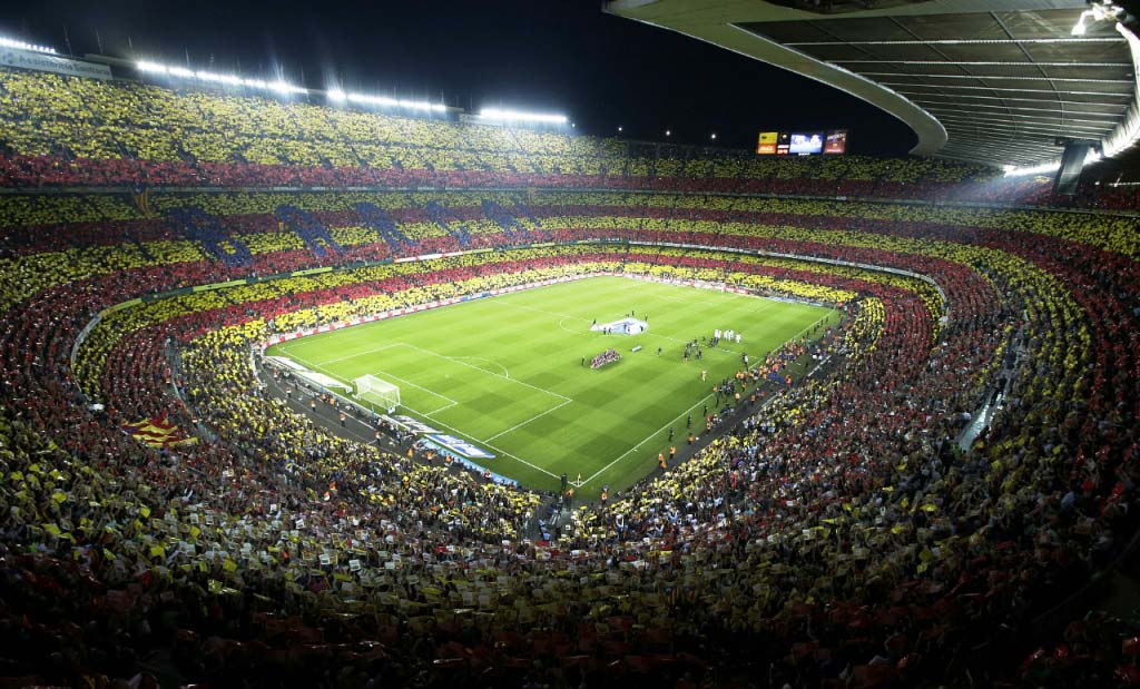 Biigest soccer stadium in South America