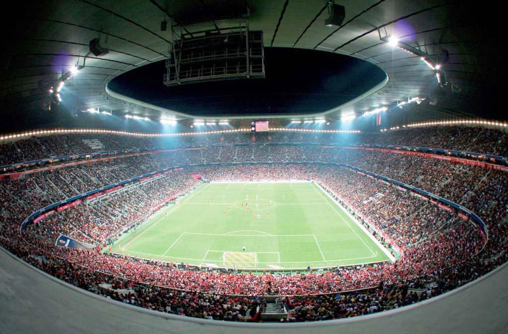European Soccre stadium