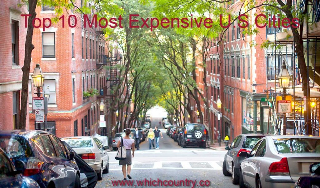 Top Ten Most Expensive Cities In United States