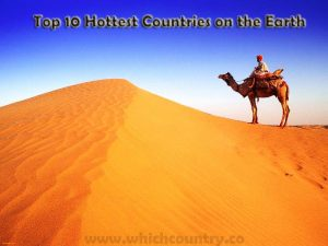 Hottest Countries in the world