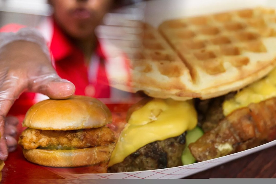 countries with most fast food consumption
