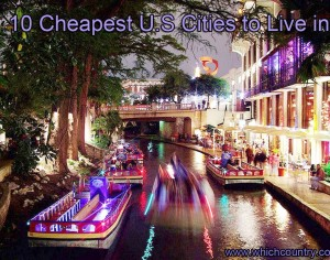 Top 10 Cheapest U.S Cities to Live in