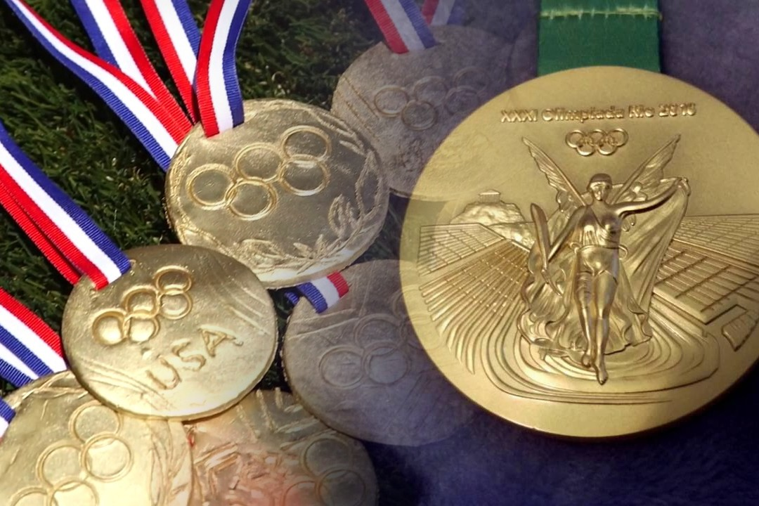 amazing medal of Olympic
