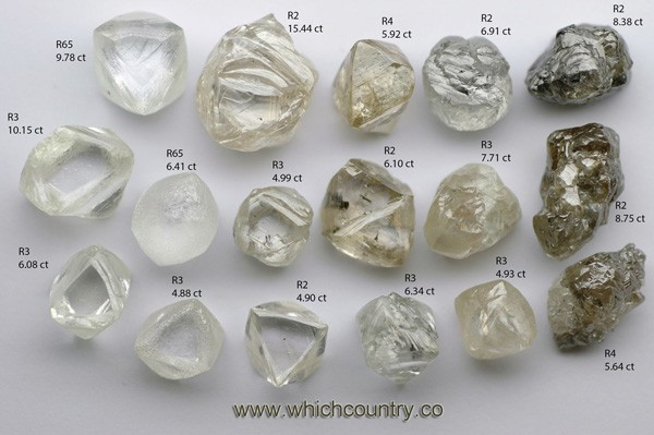 diamond shapes and types