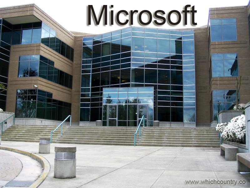 Microsoft Belongs to Which Country
