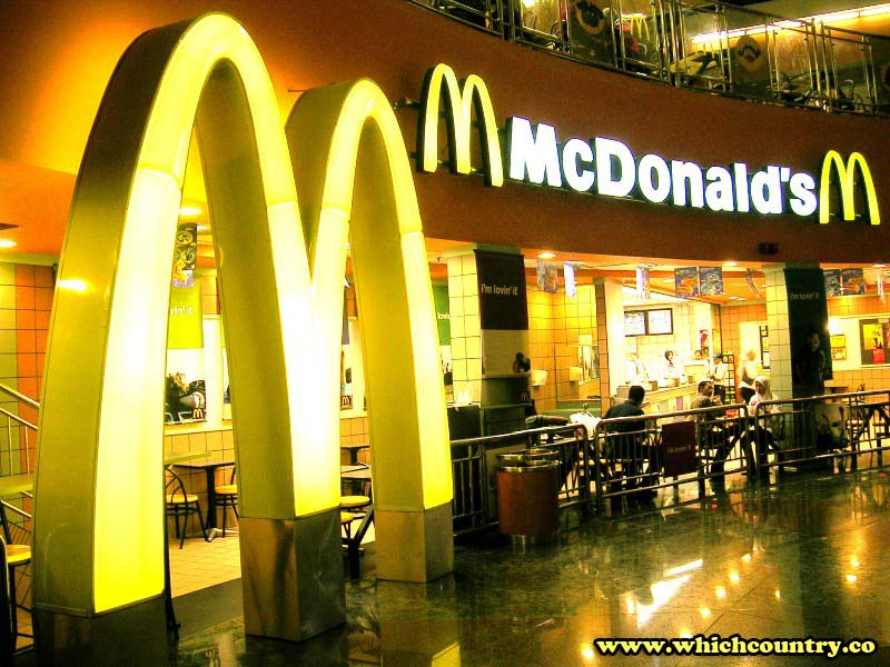 McDonald's belongs to which country