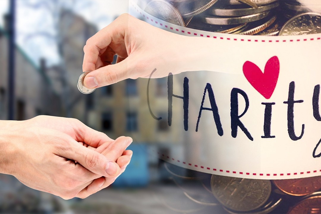 countries with most charity