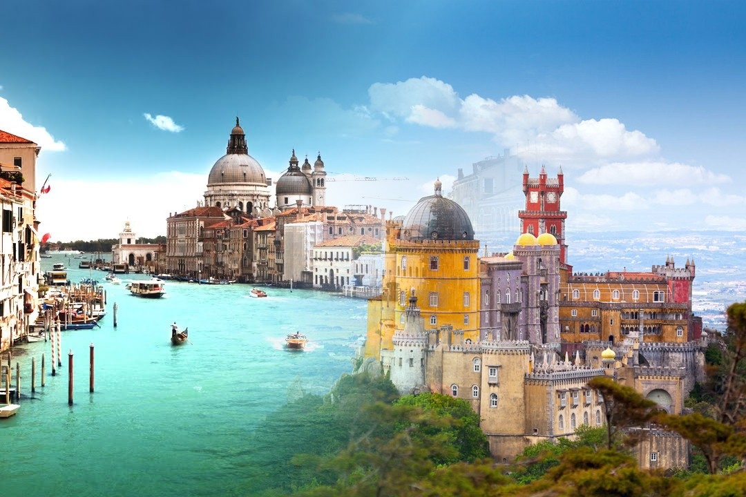 most attracting places in Europe