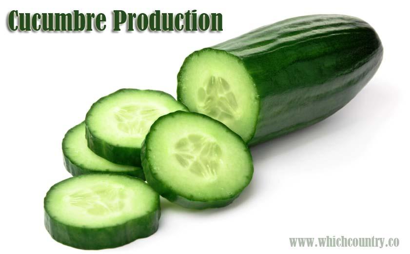 Top Ten Cucumber Producing Countries