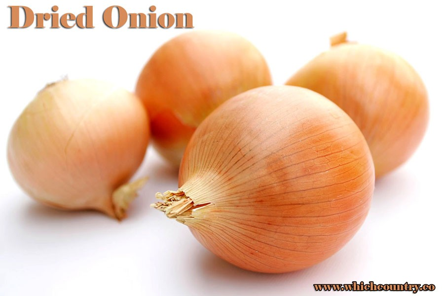 red dried onion