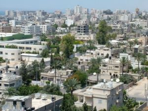 Gaza strip-Top ten densely populated countries in the world 2014