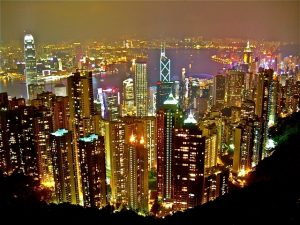 Hong Kong-Top ten densely populated countries in the world 2014