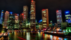 Top ten densely populated countries in the world 2014-Singapore