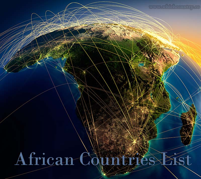 african countries list