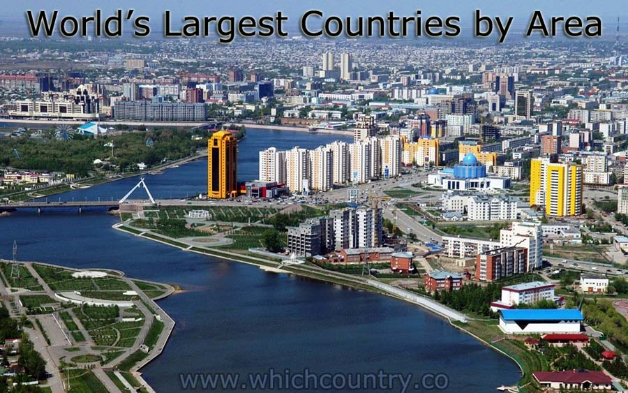 countries with largest area size