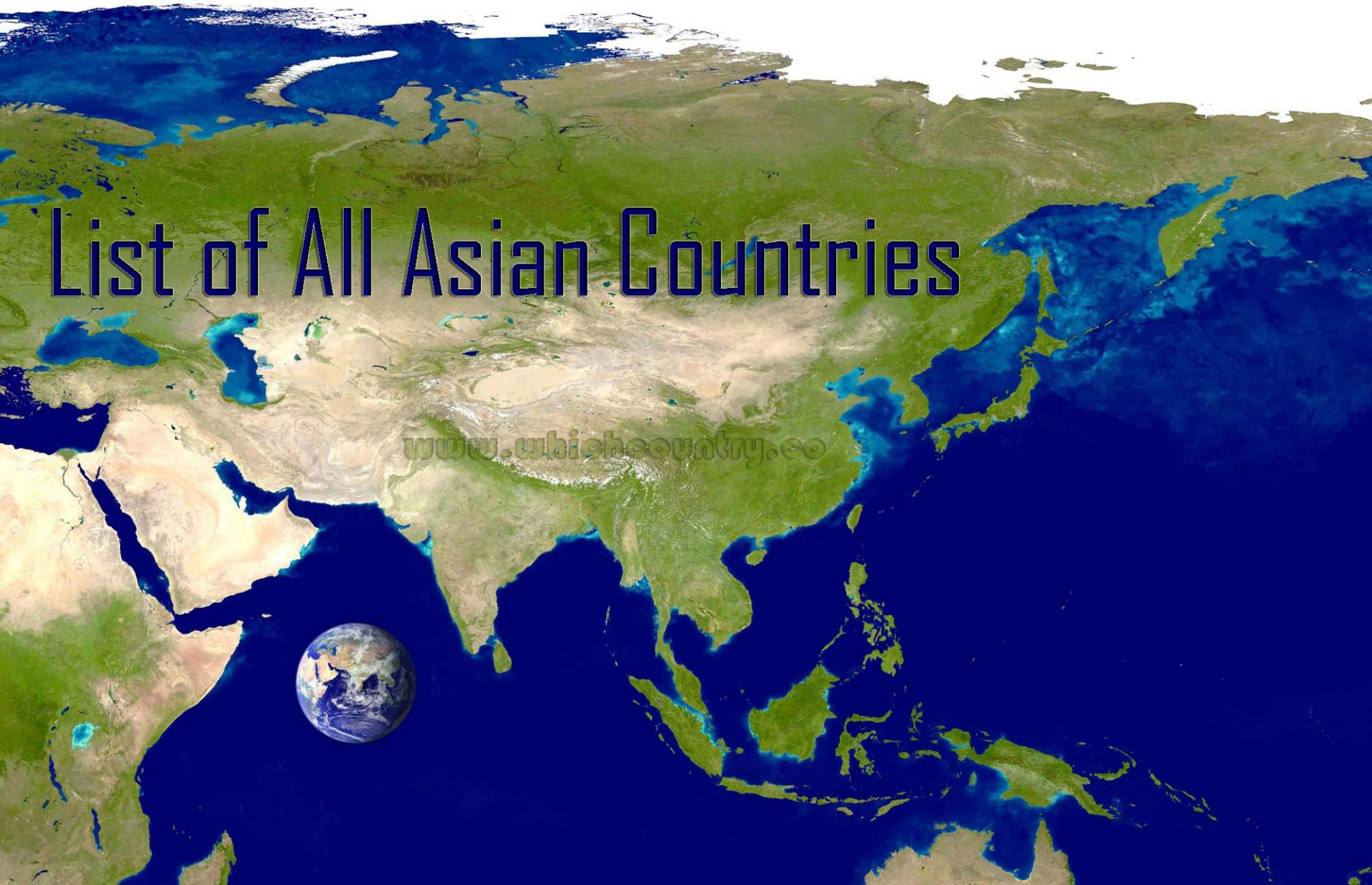 list of asian countries
