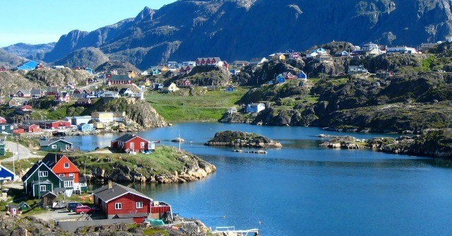 Greenland-nukk-least densely populated countries