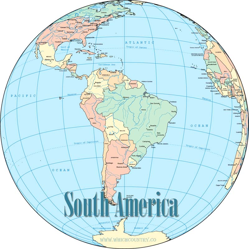 south american countries list