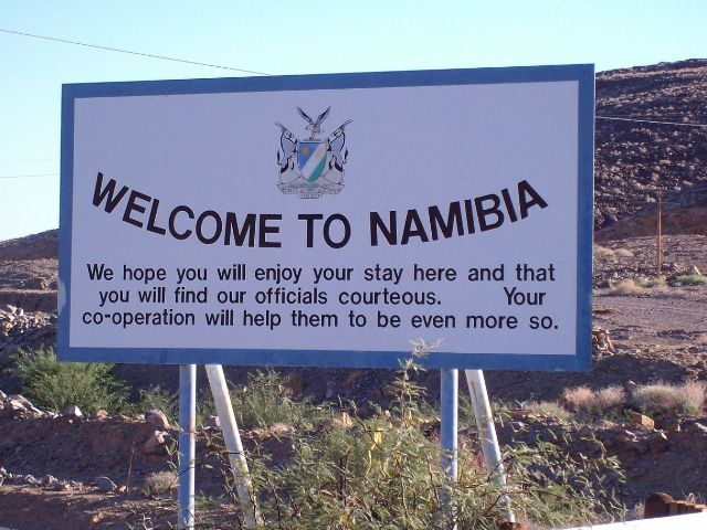 Nambia-Least densely populated countries