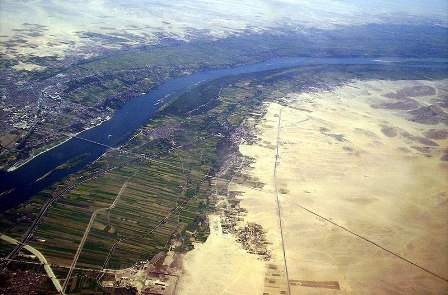 Nile river-top 5 longest rivers in the world