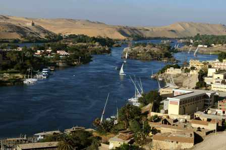 Nile river- top 5 longest rivers in the world