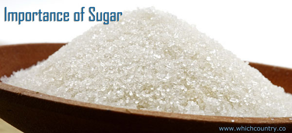 Sugar production in the world