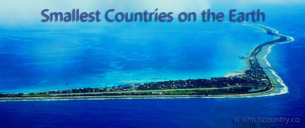 smallest countries list