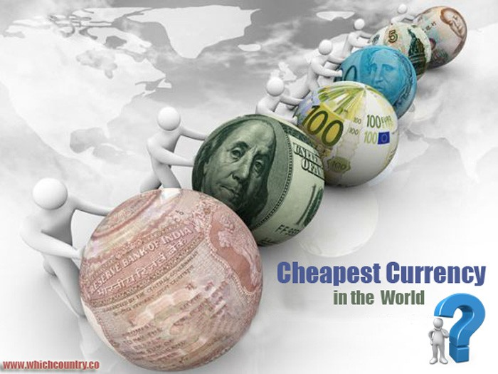 cheapest currency