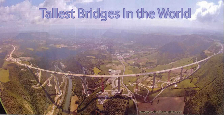 List of Top Ten Tallest Bridges in the World