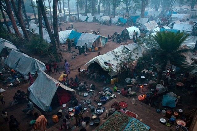 Central African Republic Refugee Camp