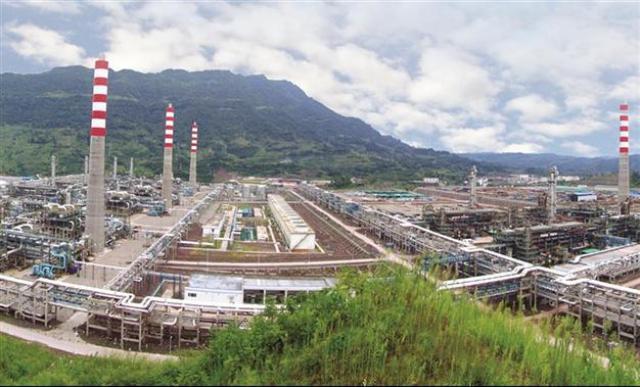 China Gas field