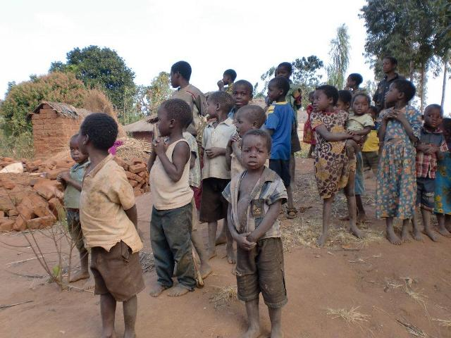 Needy kids of Malawi