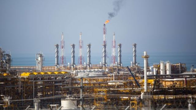 South Pars Gas field Iran