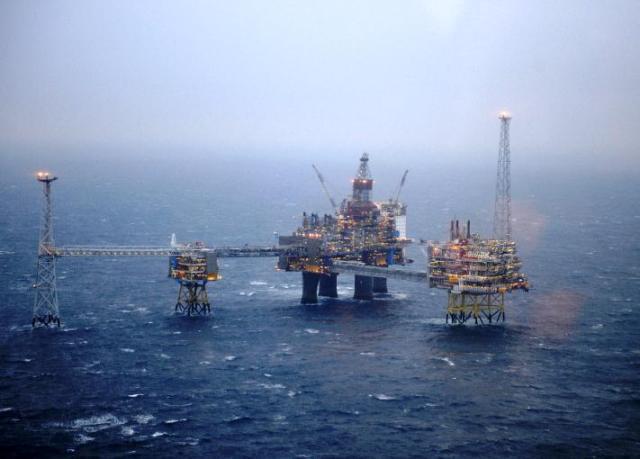 Norway Gas field