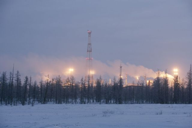natural gas field Yuzhno Russkoye