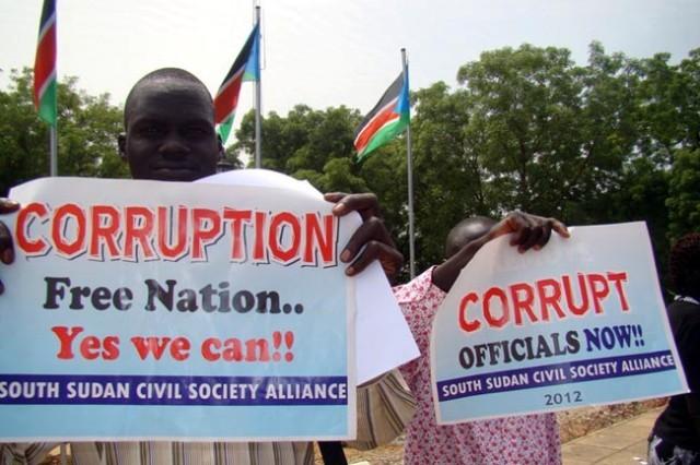 South Sudan Corruption