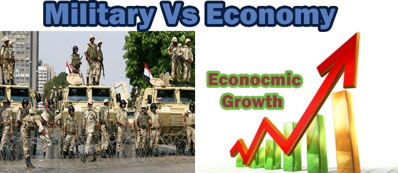 economy vs military
