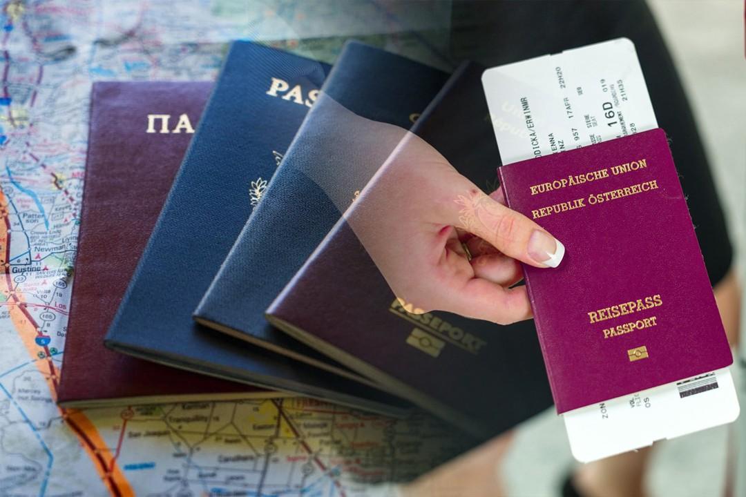 different passports