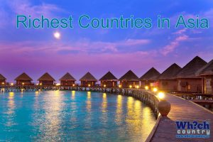 most richest countries in asia continent