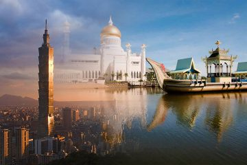 top rich countries in Asia