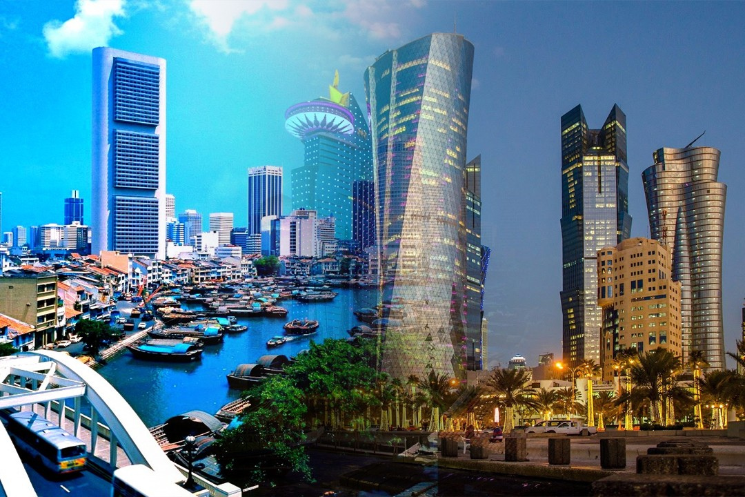 top richest countries in Asia