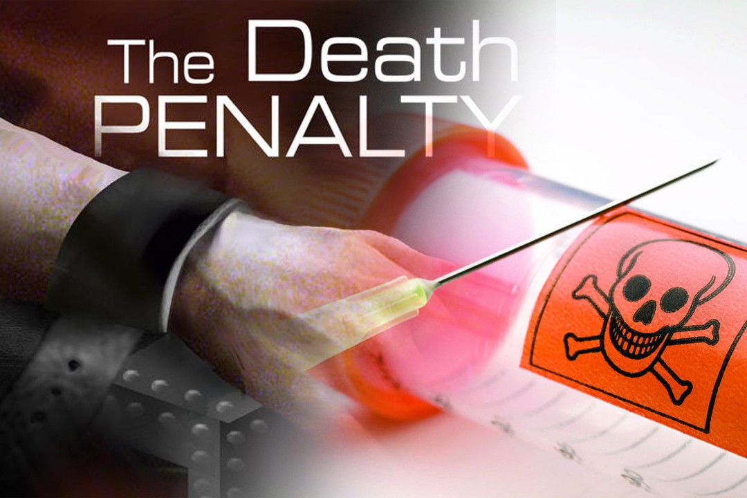death penalty for drugs usage